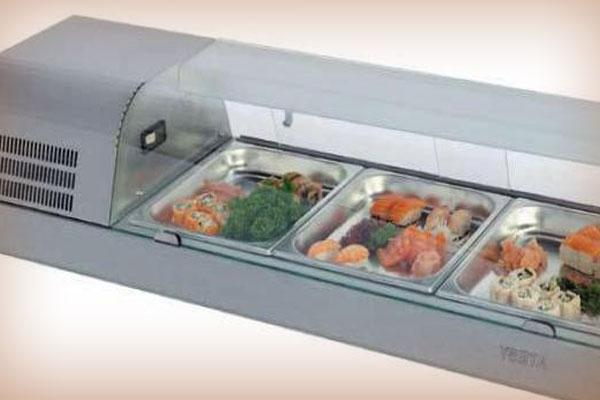 Ремонт холодильных суши-кейсов